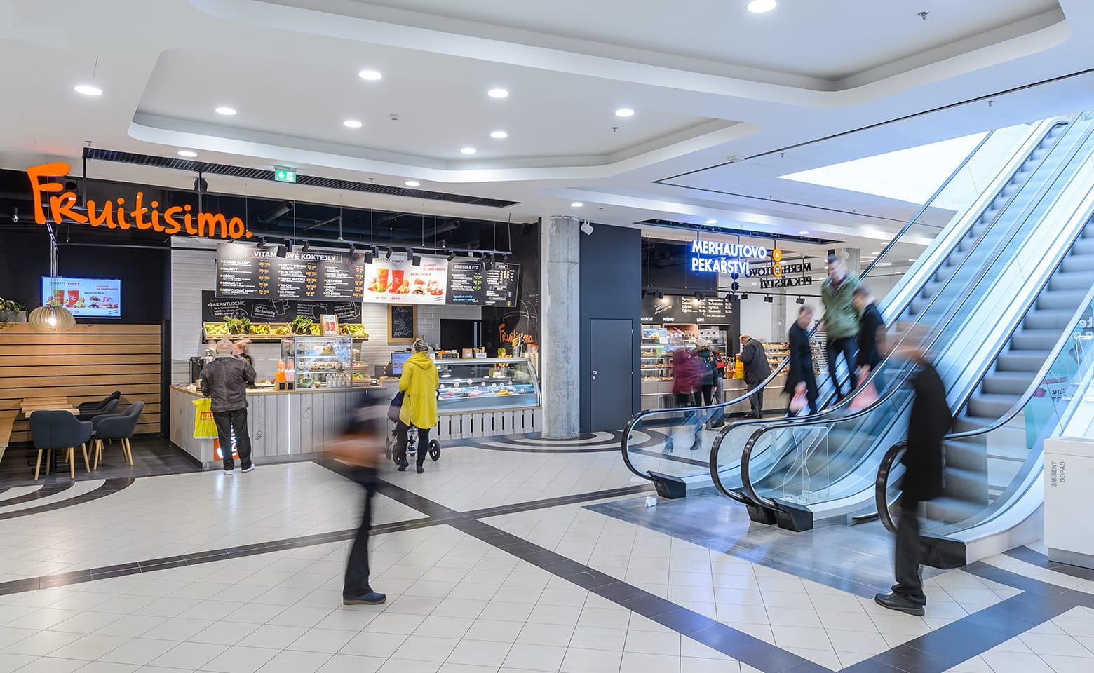 Fenix shopping centre interior