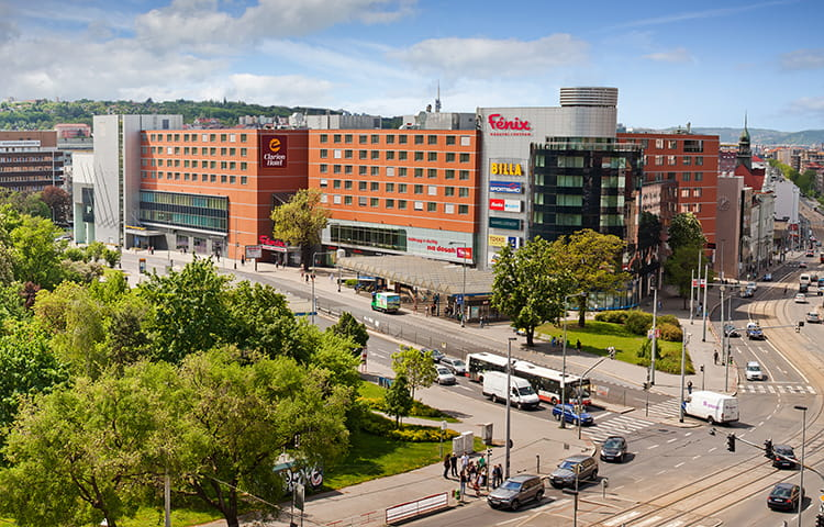 Fenix shopping centre Prague