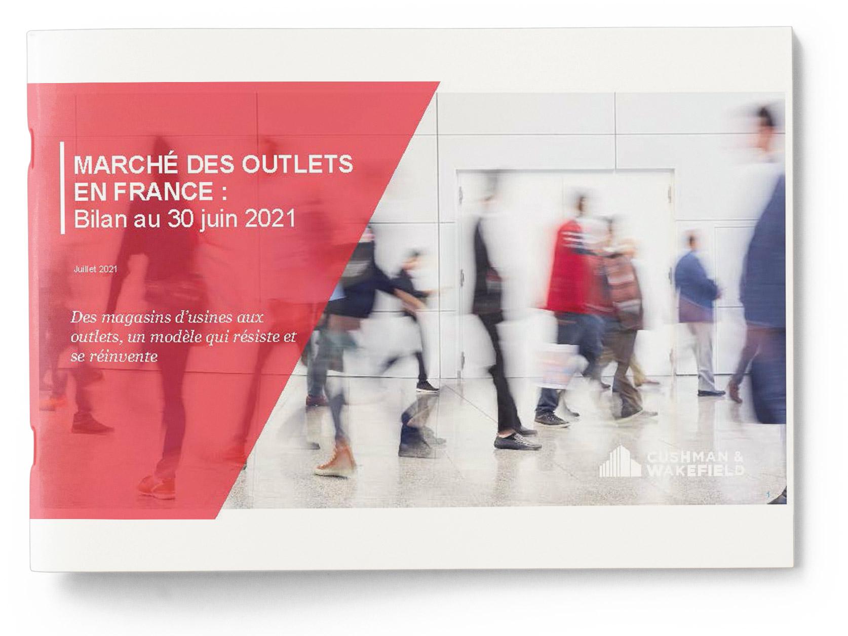 Marché des Outlets en France fin 1er semestre 2021 (cover)