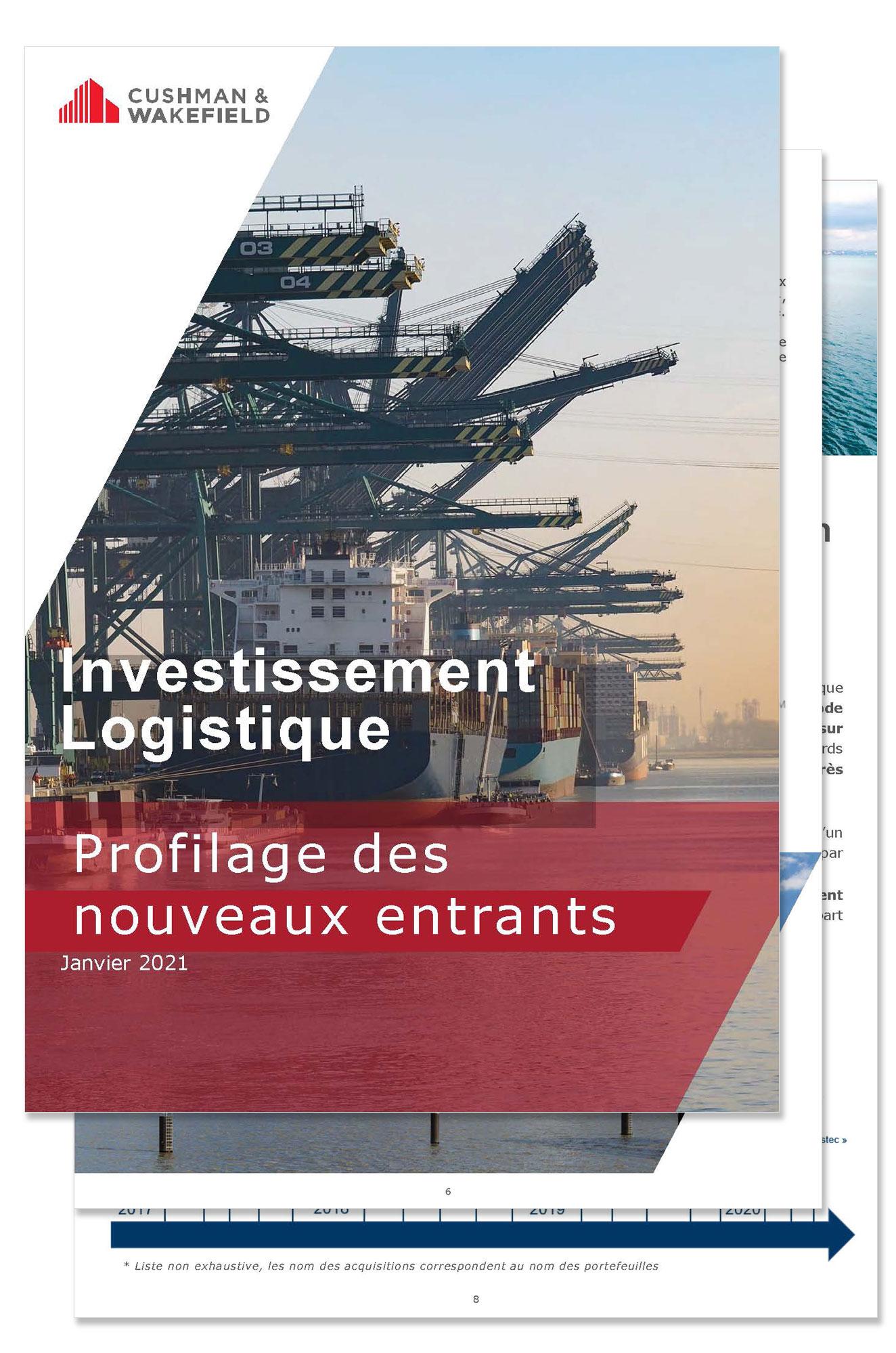 Investissement Logistique : Profilage des Nouveaux Arrivants