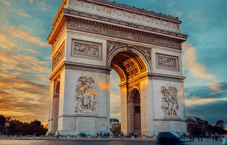 Paris - Arc de Triomphe