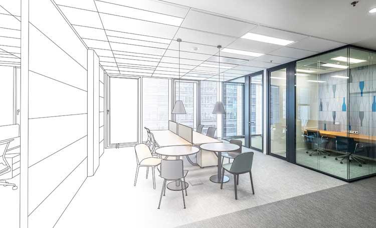 Concept Aménagement Bureau - Design & Build