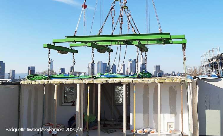 Modular timber building site