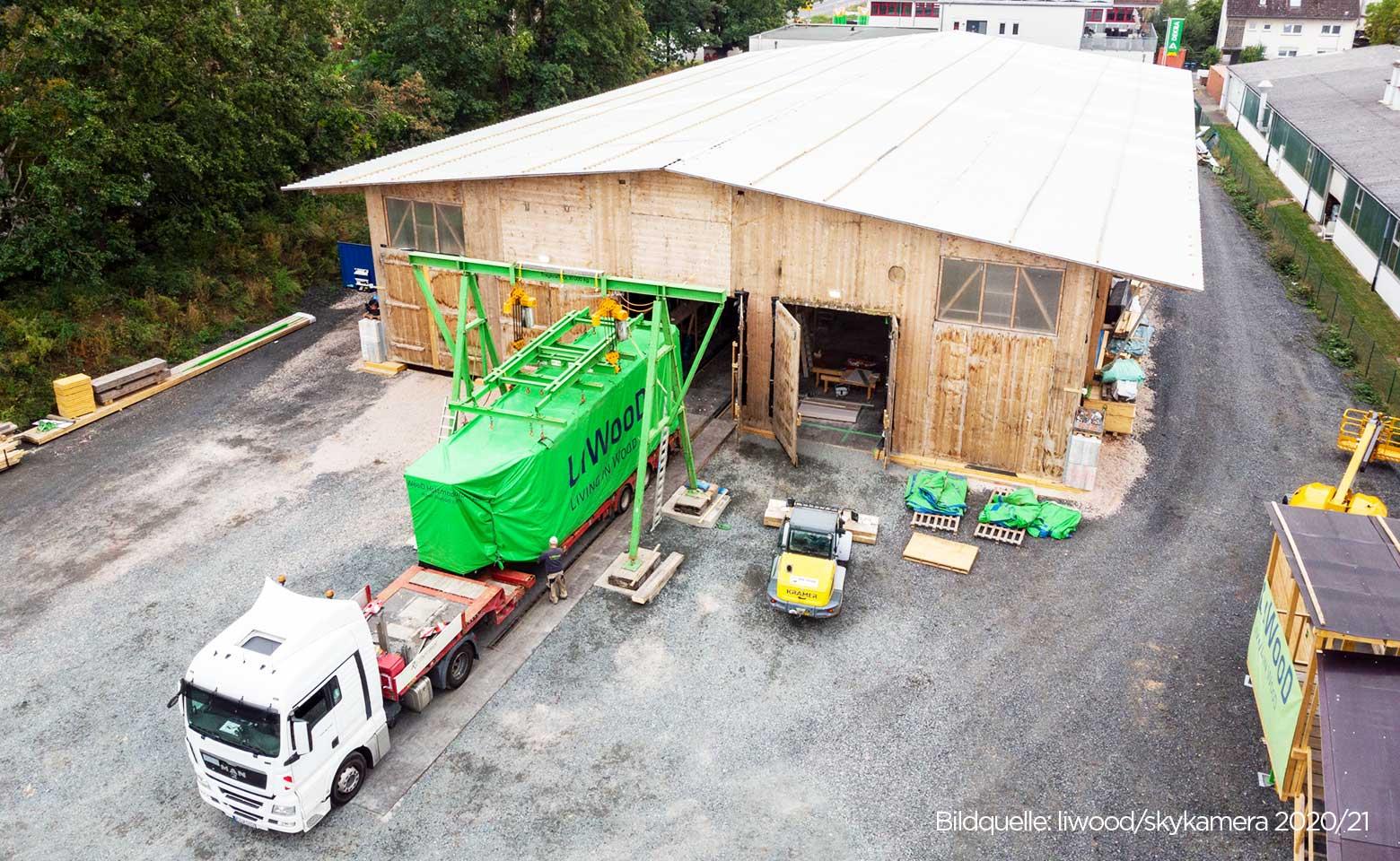 Modularer Holzbau