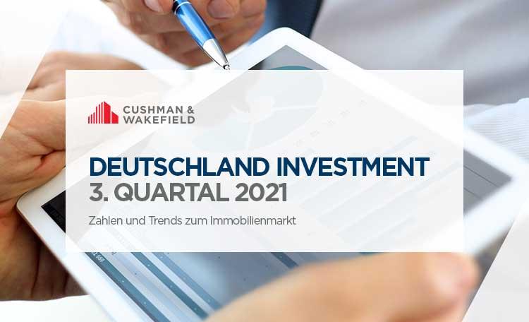 Investment Markt Deutschland Q3 2021