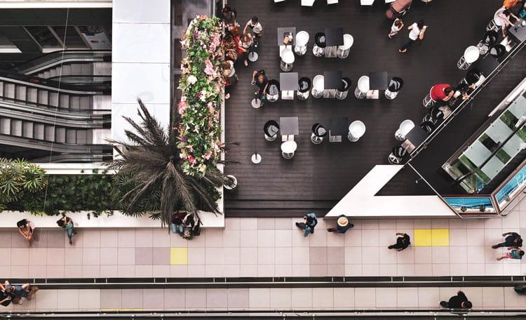 Metro mall Athens Greece