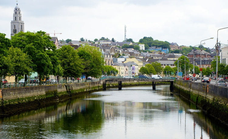 Cork from the canal, Ireland