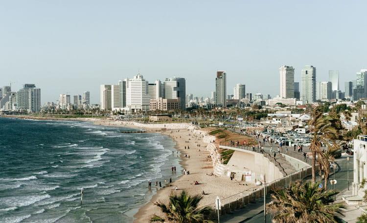 Israel coast