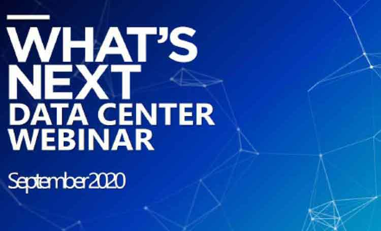 What's Next Data Center Webinar graphic