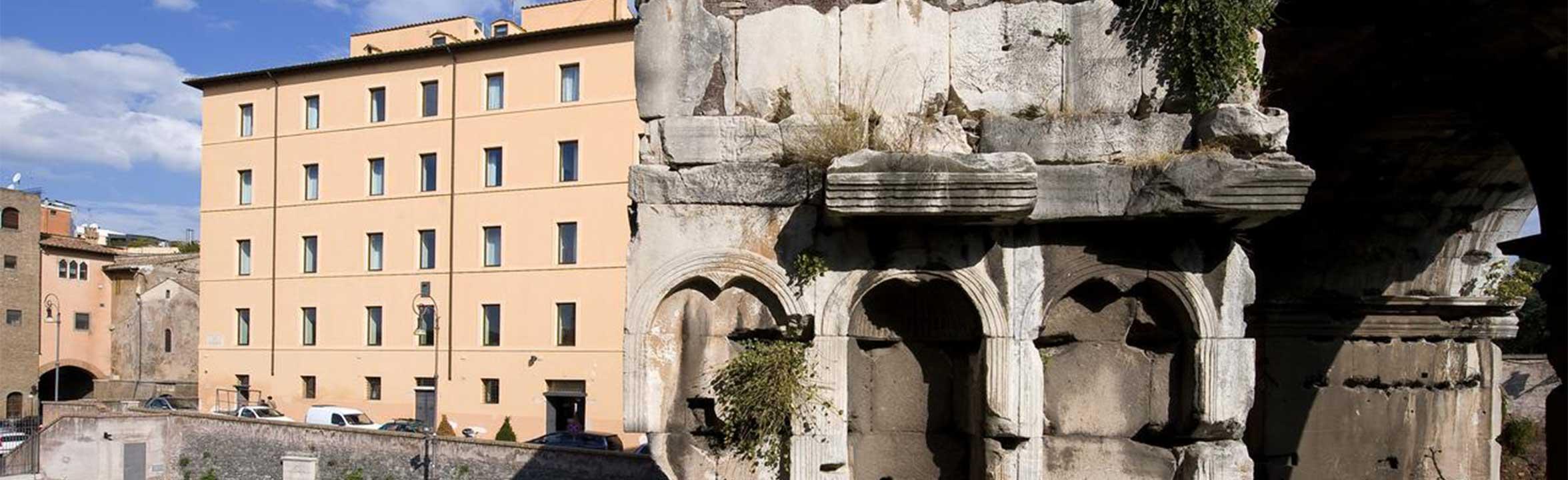 palazzo velabro facciata 3