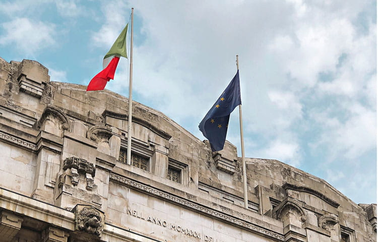 Italy Milan Via Giovanni Battista