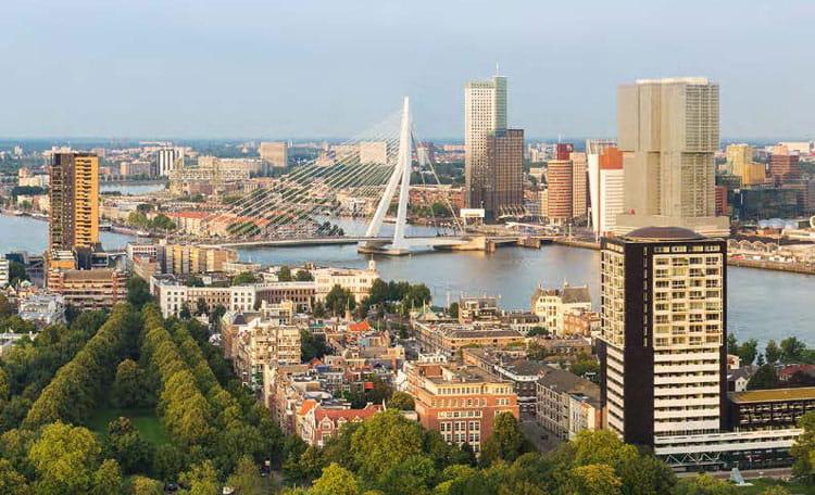 Rotterdam view, Netherlands