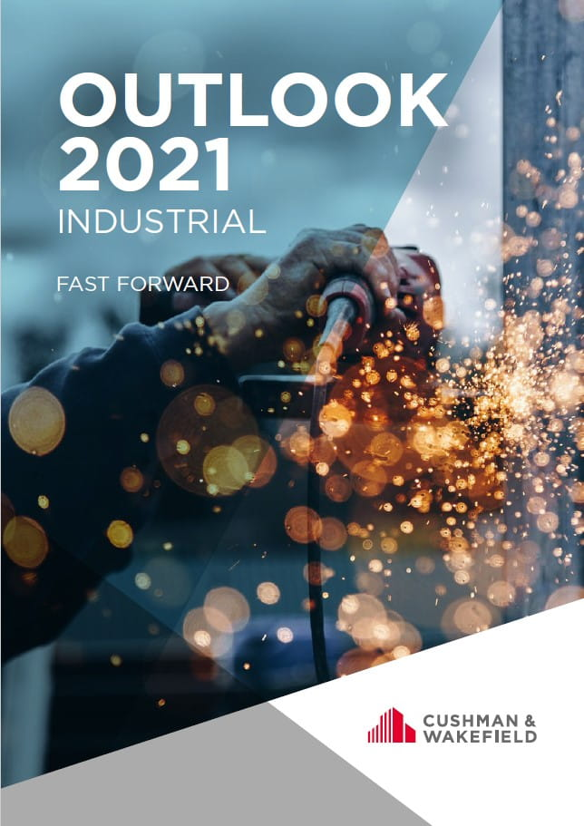 C&W Outlook 2021 Industrial front cover