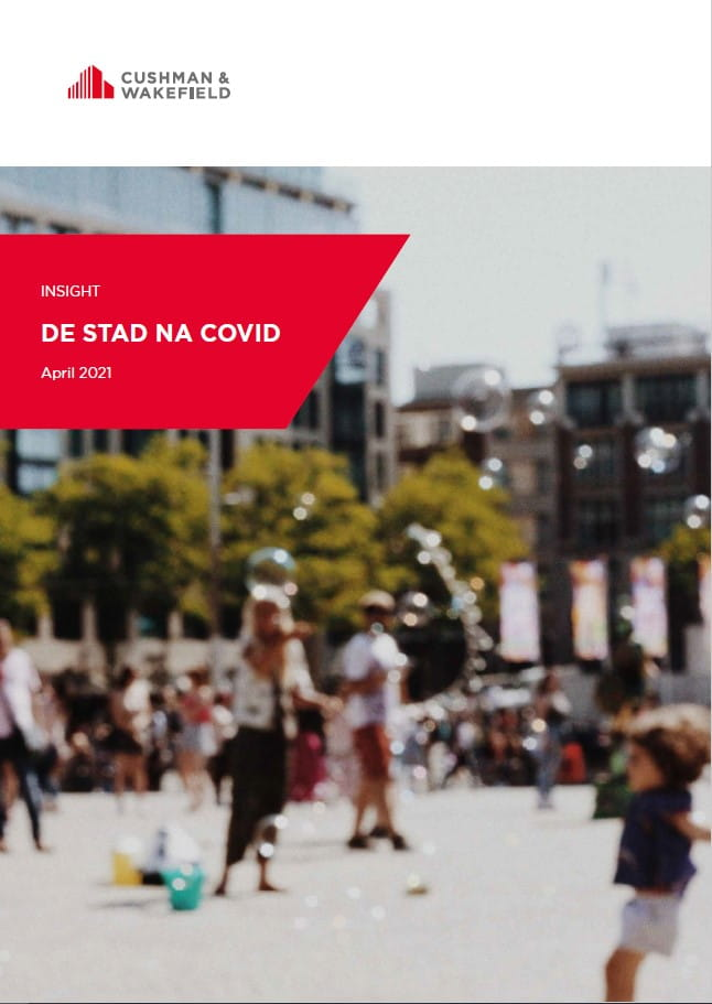 What's Next Insight De stad na COVID front cover
