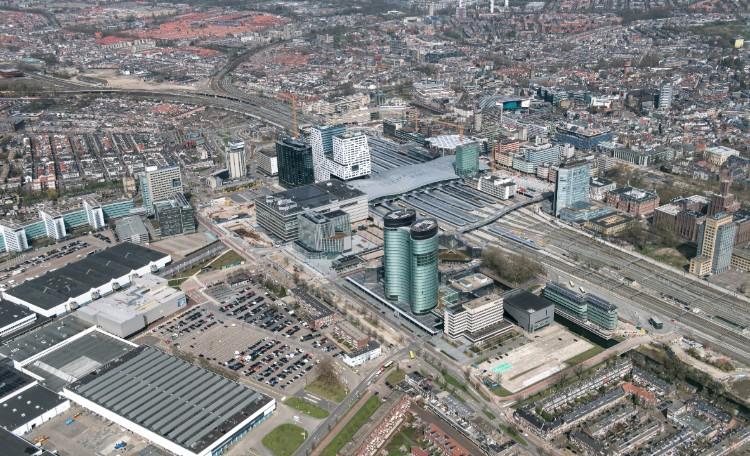 Utrecht stationsgebied