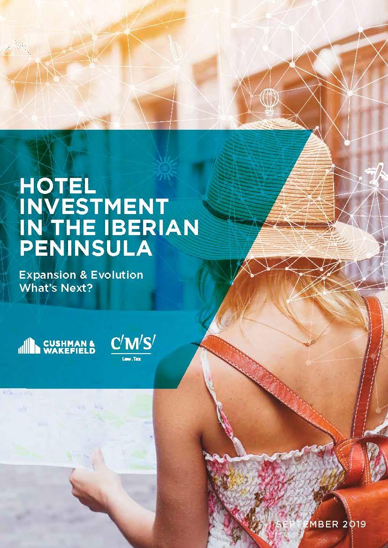 capa Hotel Investment in the Iberian Peninsula