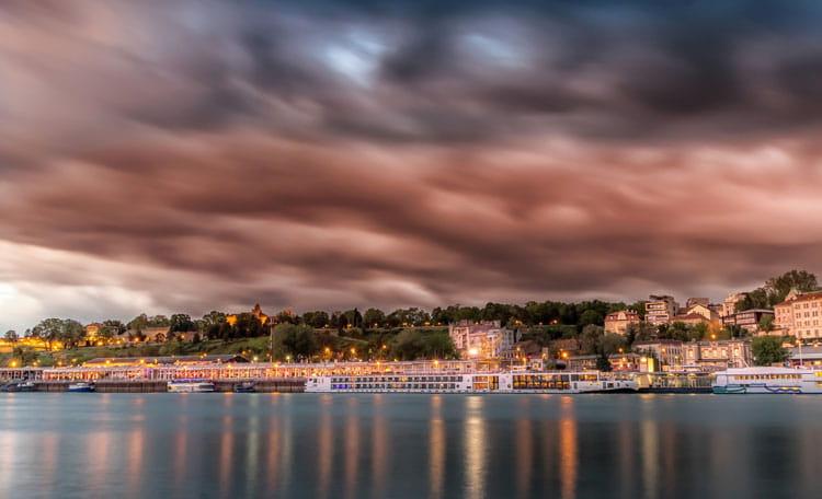 Belgrade port, Serbia