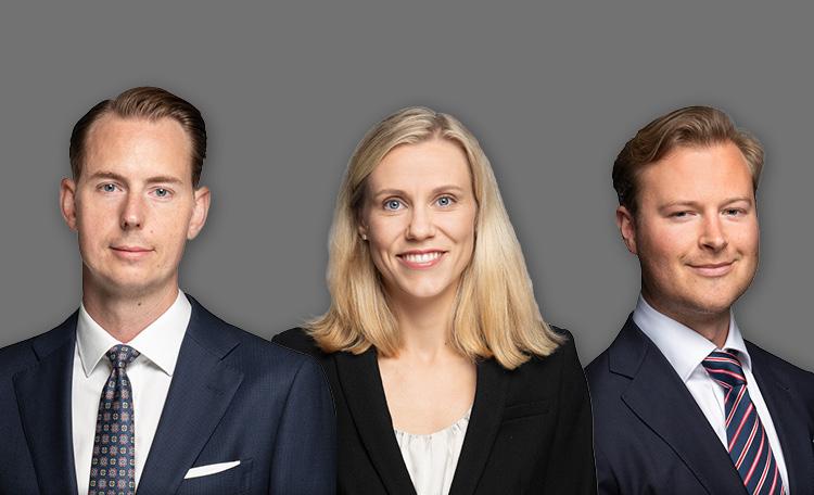 Anders Elvinsson Annie Lilja Staffan Dahlén