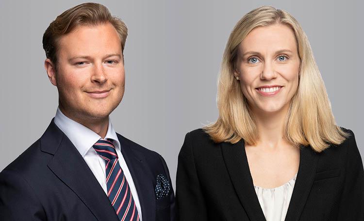 Staffan Dahlén och Annie Lilja