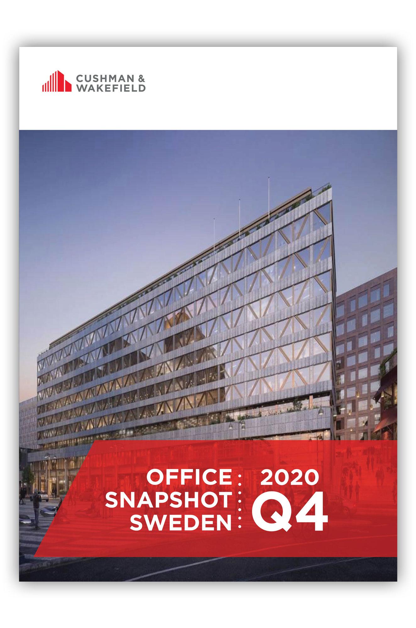 Office Property Market Data Sweden Q4 2020