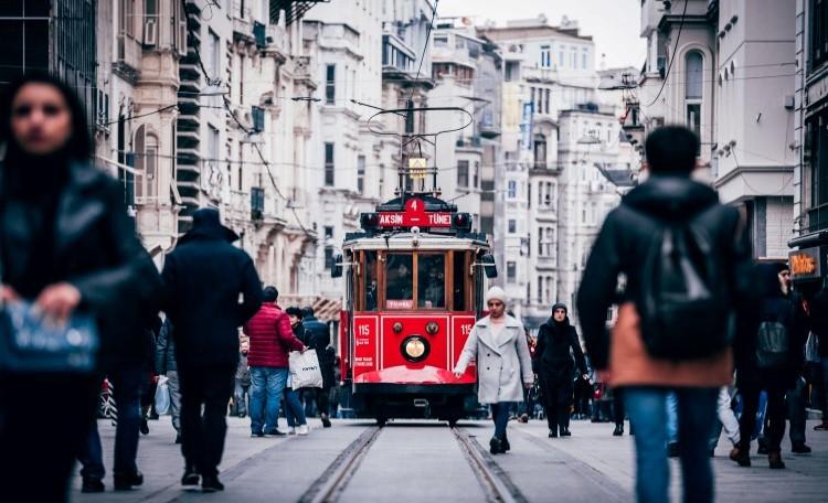 tram in İstanbul