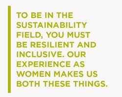 Women leading Sustainability (Image)