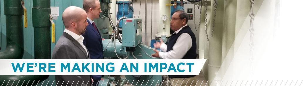 Making an impact (image)