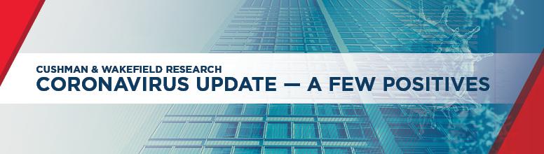Coronavirus Update - A Few Positives Web Banner