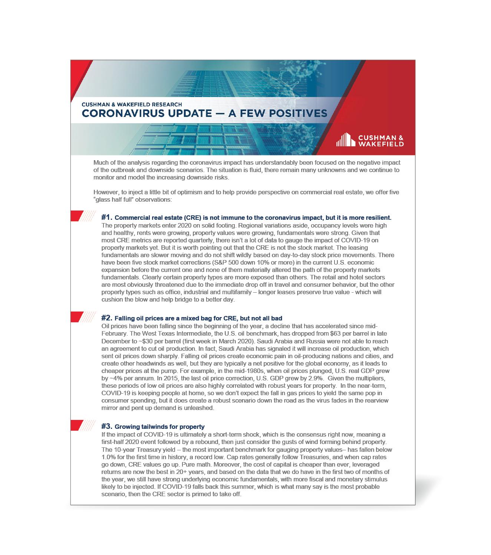 Coronavirus Update Thumbnail