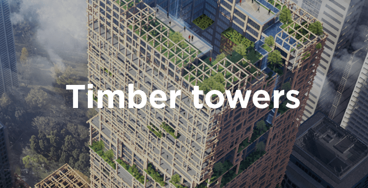 Timber towers (image)