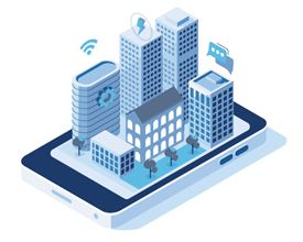 smart buildings icon (image)