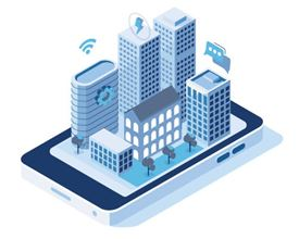 smart buildings icon (image)