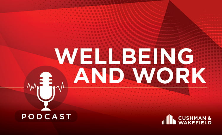 Wellbeing and Work Podcast (image)