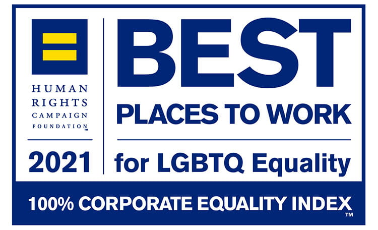 Best Places to work LGBTQ 2021 (image)