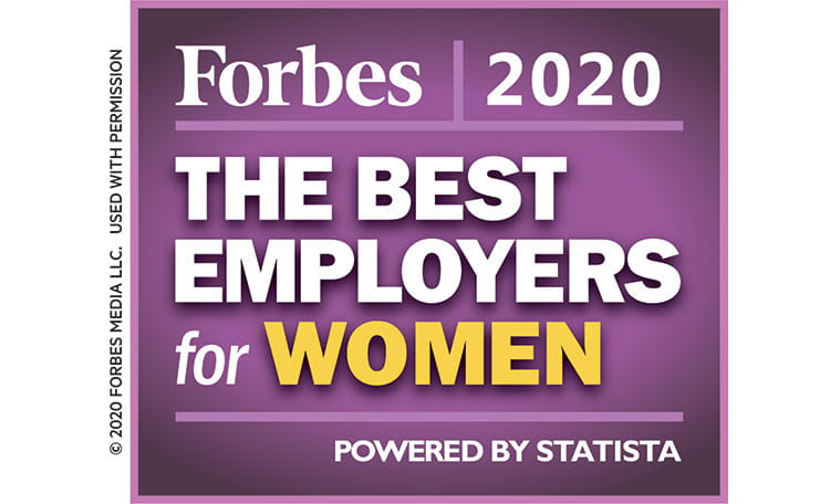best employers for women 2020 Forbes (image)