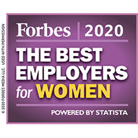 Forbes Best Employers for Women (image)