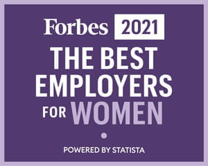 Forbes 2021 Best Employers for Women (image)