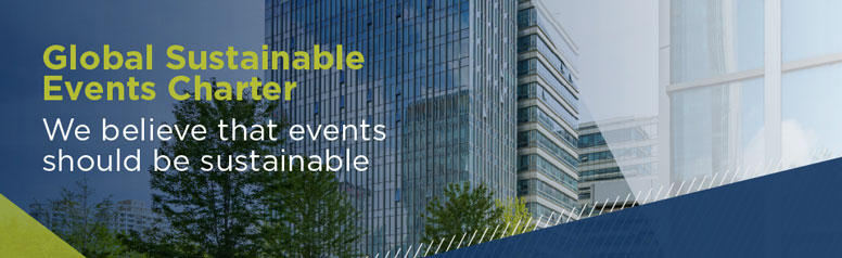 Global Sustainable Events Charter banner (image)