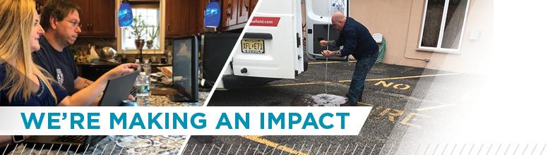 Making an impact banner (image)