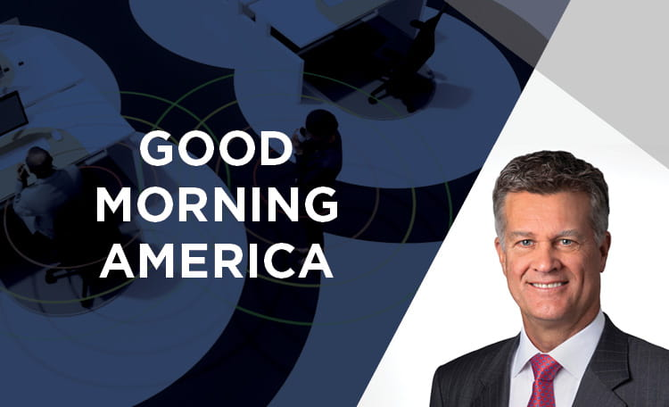 Brett White on Good Morning America (image)